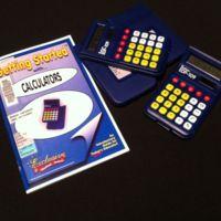 Deluxe calculator class set