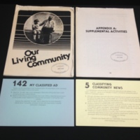 Our living community: community studies through the daily newspaper