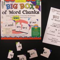 Big box of word chunks