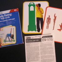 Body poetry : yoga cards